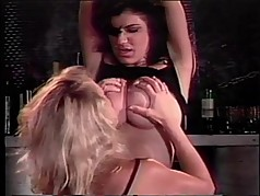 Blonde slut is a pussy licking tramp