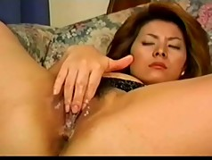 Sexy Pretty Japanese MILF's Hot Cunt Fucked