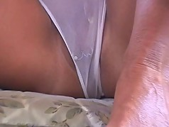 Public See-Through Bikini,  milf showing tits and pussy