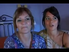 Latina NOTmother and her Notdaughter threesome