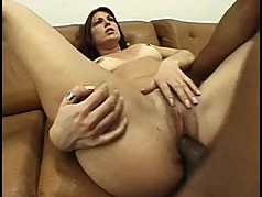 Brazilian milf gets fuck action.