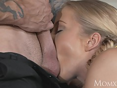 MOM Cutie lets British stud deep inside her soft wet pussy