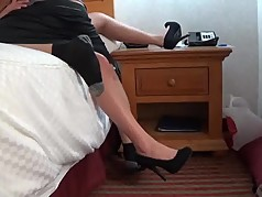 high heel teasing