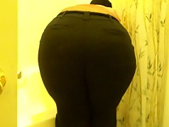Big Booty Slave Bitch Cleaning My Shower