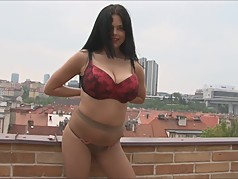 Massive Tits And Pantyhose Milf