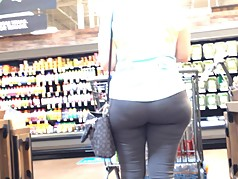 Gilf Chase in Grey Spandex