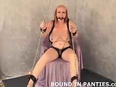Please help me get out of these ropes and ball gag