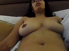 Honeymoon fingering with moan