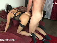 My Dirty Hobby - Alexandra-Wett riding that Dick