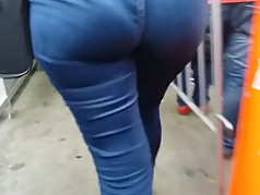MILF BOTTY CALZA JEANS BLUE