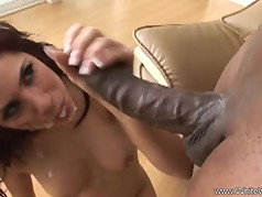 Interracial BBC Anal For White MILF