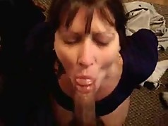 wife handcuffed for facial