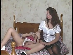 Vida Garman in bed with Amanda Long