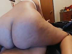 Best fucking ass riding a fat cock well