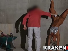 KrakenHot Milf Coral Joice having fun nude outdor, blowjob!!