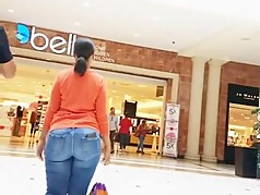 Big Asses At The Mall Compilation Pt 1