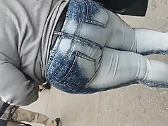 African Milf Big Booty Rare End On Jeans