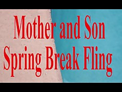 Mother and Son Spring Break Sex  POV